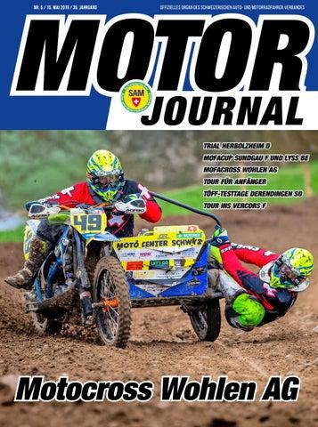 Journal By 201905 Schweizerischer Auto Sam Motor Und xBdCoe