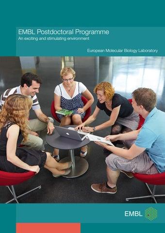 EMBL Postdoctoral Programme by European Molecular Biology Laboratory