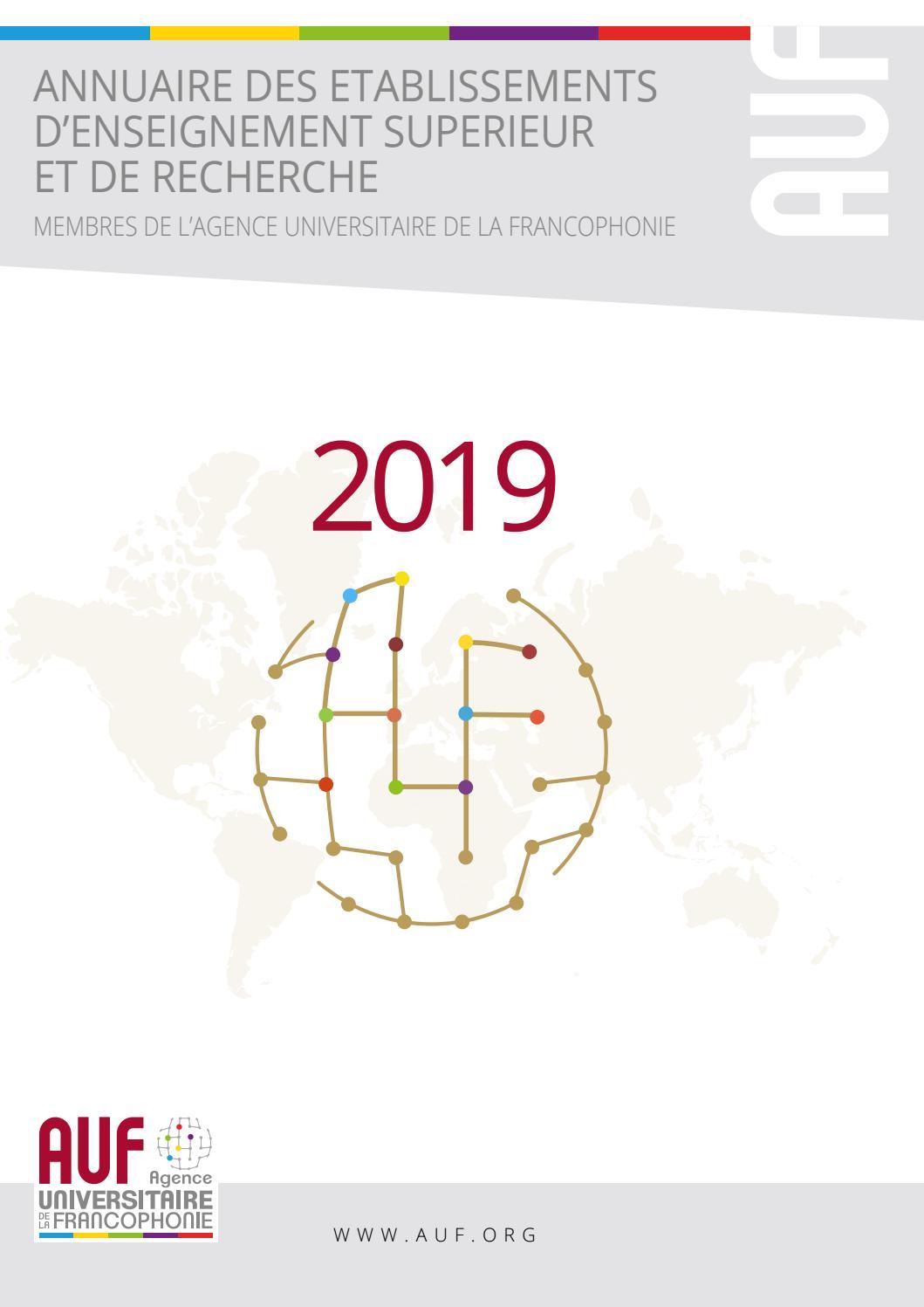 Auf 2019 Agence Universitaire De La Francophonie By Azur