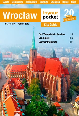 Wroclaw In Your Pocket May August 2019 By Poland In Your Pocket