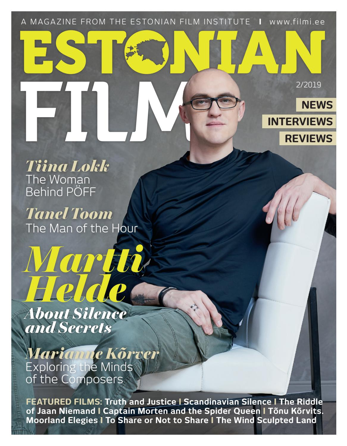 Estonian Film 2019 / 2 by Eesti Filmi Instituut - issuu