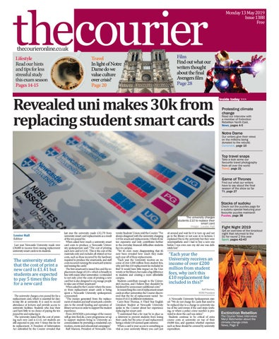 4fd57b19 Courier 1388 by The Courier Online - issuu