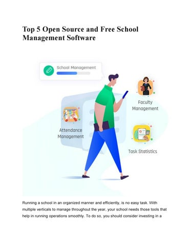 Find the List of best school management software  Free Demo by