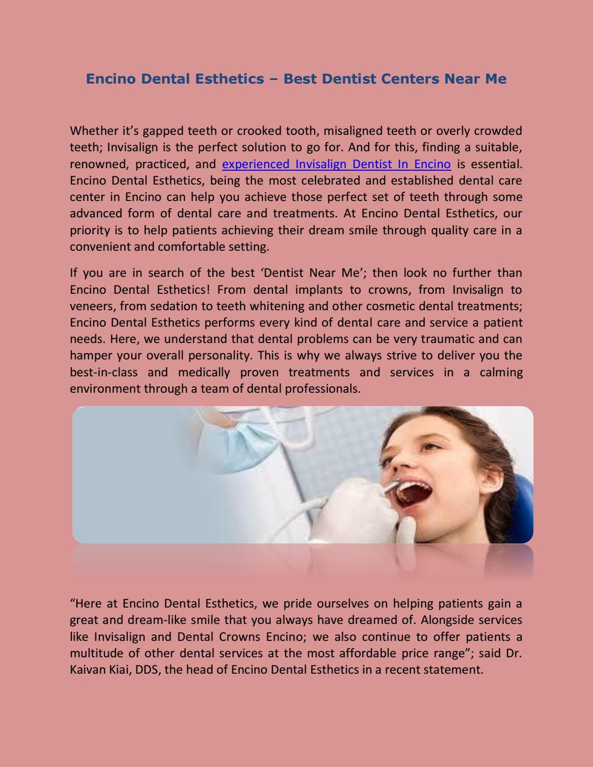 Encino Dental Esthetics – Best Dentist Centers Near Me by