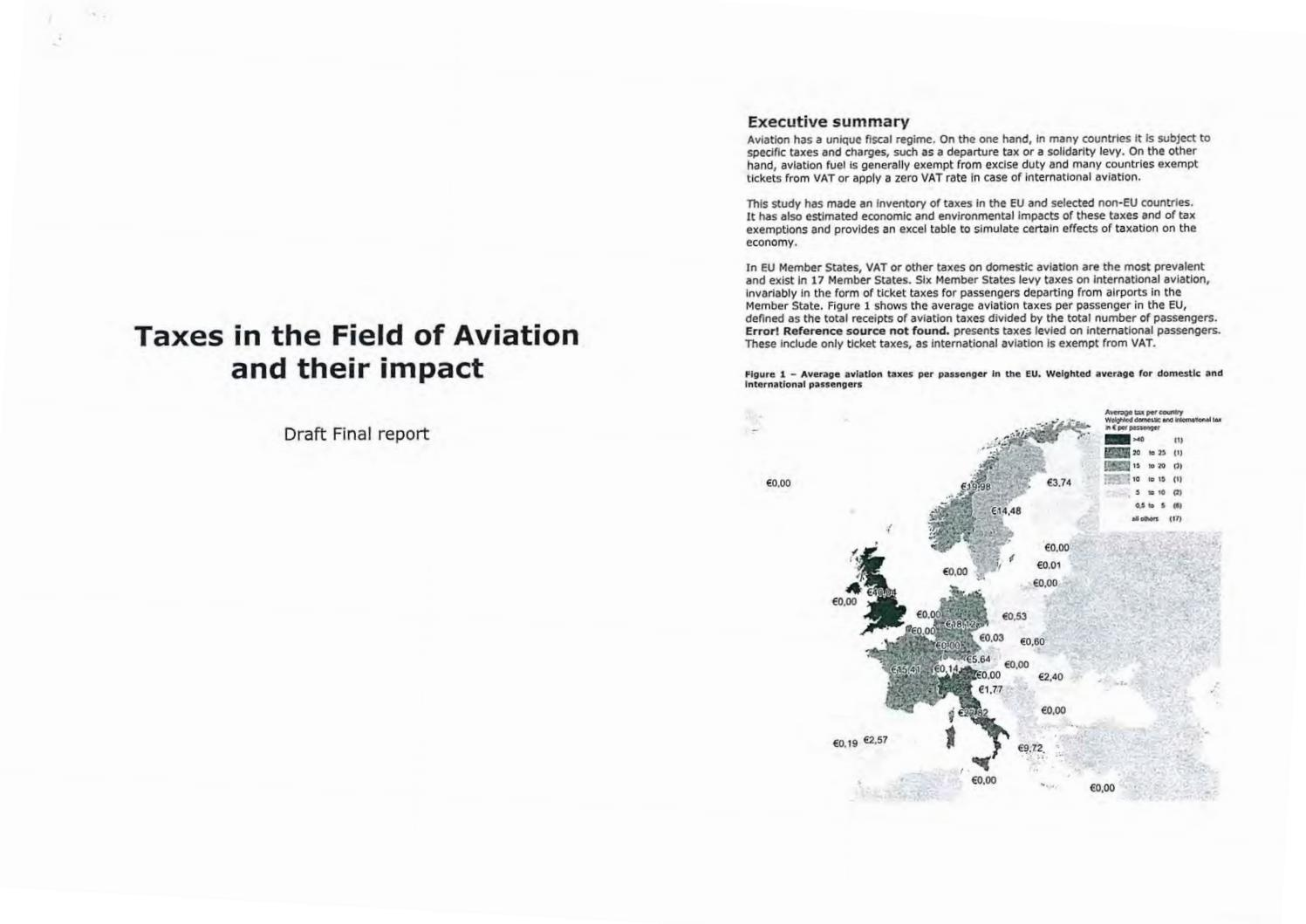 54027b5f381 Taxes in the Field of Aviation and their impact by Aaldrik Adrie van der  Veen - issuu