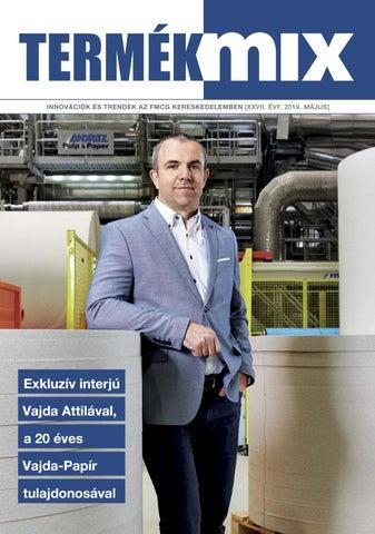 7ec8fccfa9 Termékmix magazin 2019. május by Termékmix - issuu
