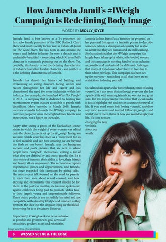 Page 7 of HowJameelaJamil's#IWeighCampaign is Redefining Body Image