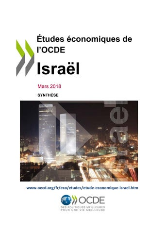 74d2ef4077318 OECD Economic Survey 2018: Israel (Overview. Version française) by ...