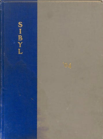 1904 Sibyl Yearbook 2019 By Otterbein University Issuu