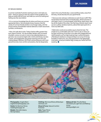 Page 19 of SUMMER SIZZLE Beach Fashions for Hot Hot Hot Weather
