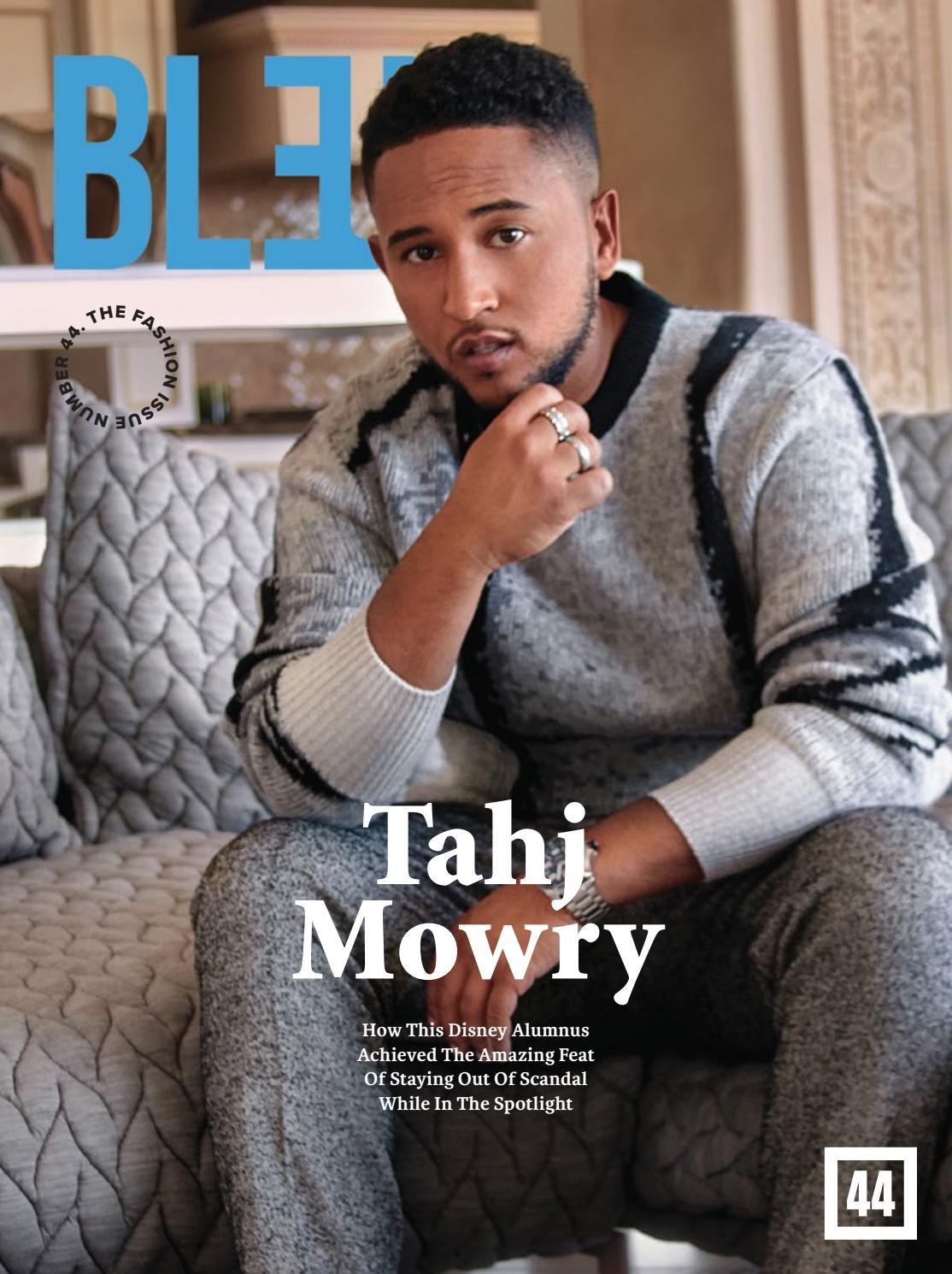 Bleu Magazine Issue 44- Tahj Mowry by Bleu Magazine - issuu