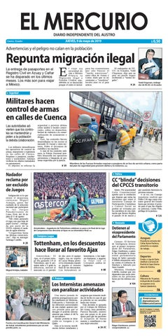 36a6b64fd El Mercurio-02-05-2019 by Diario El Mercurio Cuenca - issuu