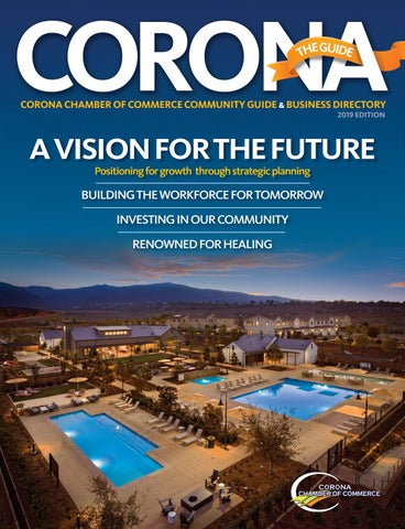 CORONA The Guide 2019 by Chamber Marketing Partners, Inc