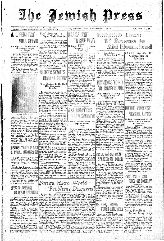 November 1, 1940 by Jewish Press - issuu on