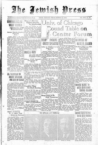 October 25 1940 By Jewish Press Issuu