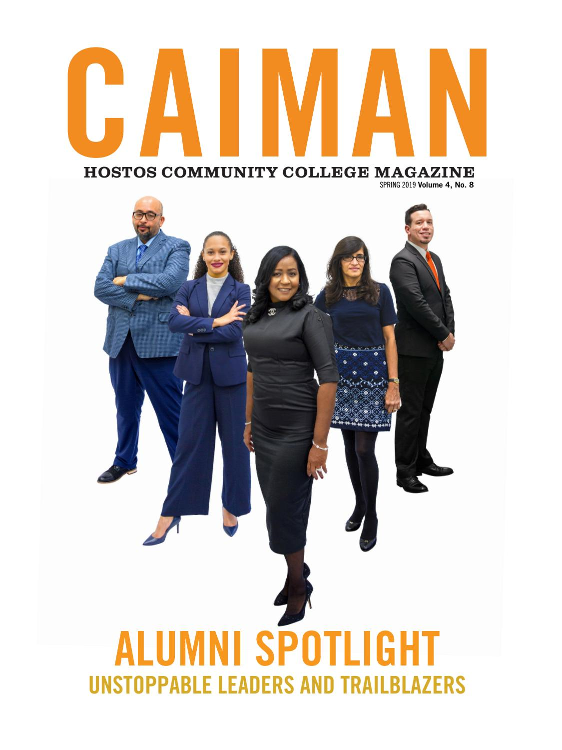 Caiman Magazine, V4, N8 by Hostos Community College - issuu