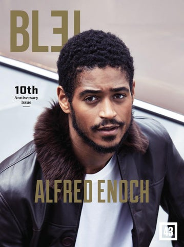 Bleu Magazine Issue 43- Afred Enoch by Bleu Magazine - issuu