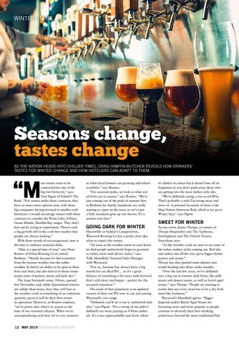 Page 12 of Seasons change, tastes change