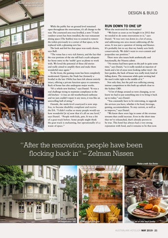 Page 21 of Design & Build: The Glebe Hotel