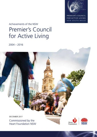 Premier's Council for Active Living NSW by Fresco Creative - issuu