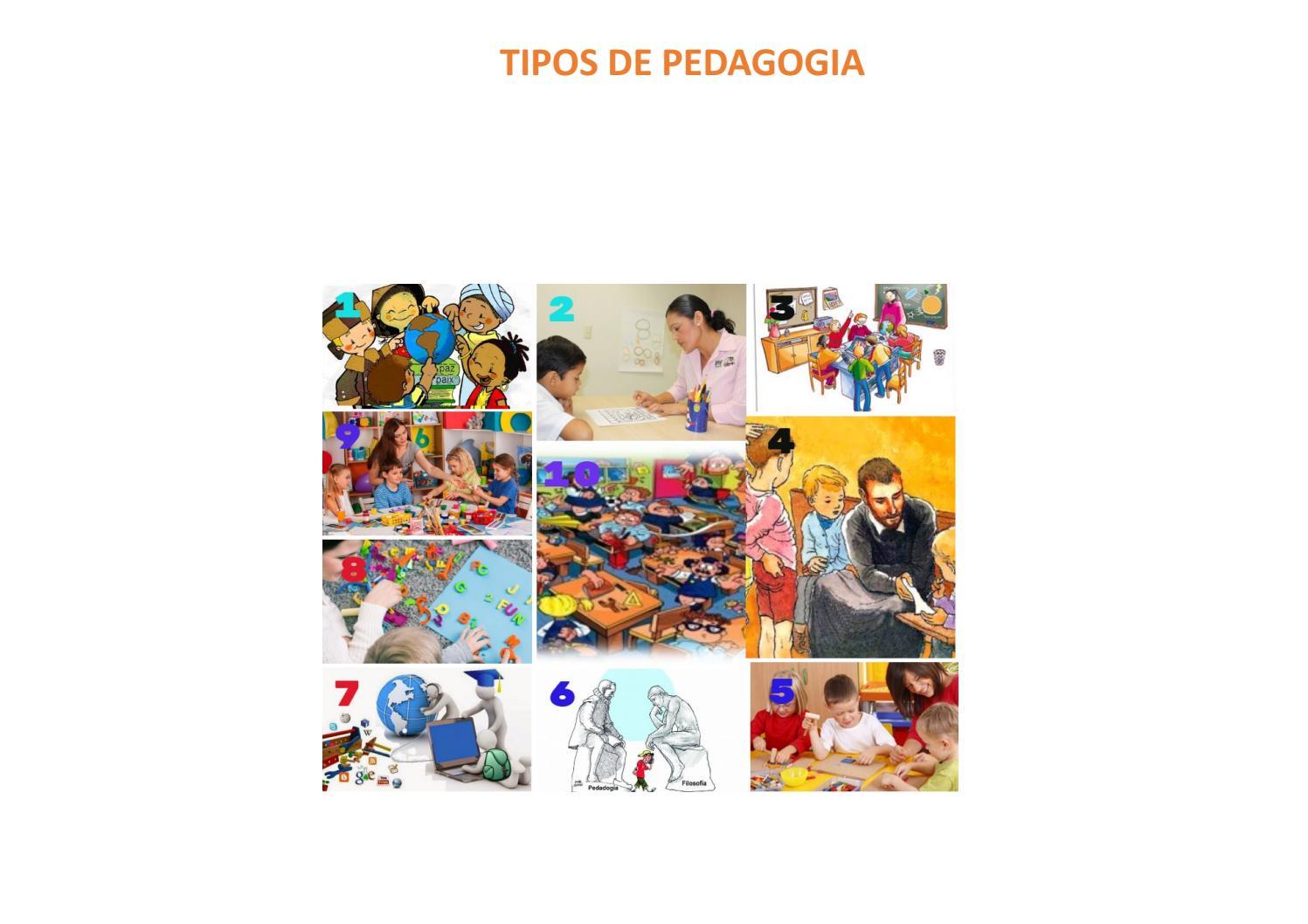 Tipos De Pedagogía By Emilie Bg Issuu