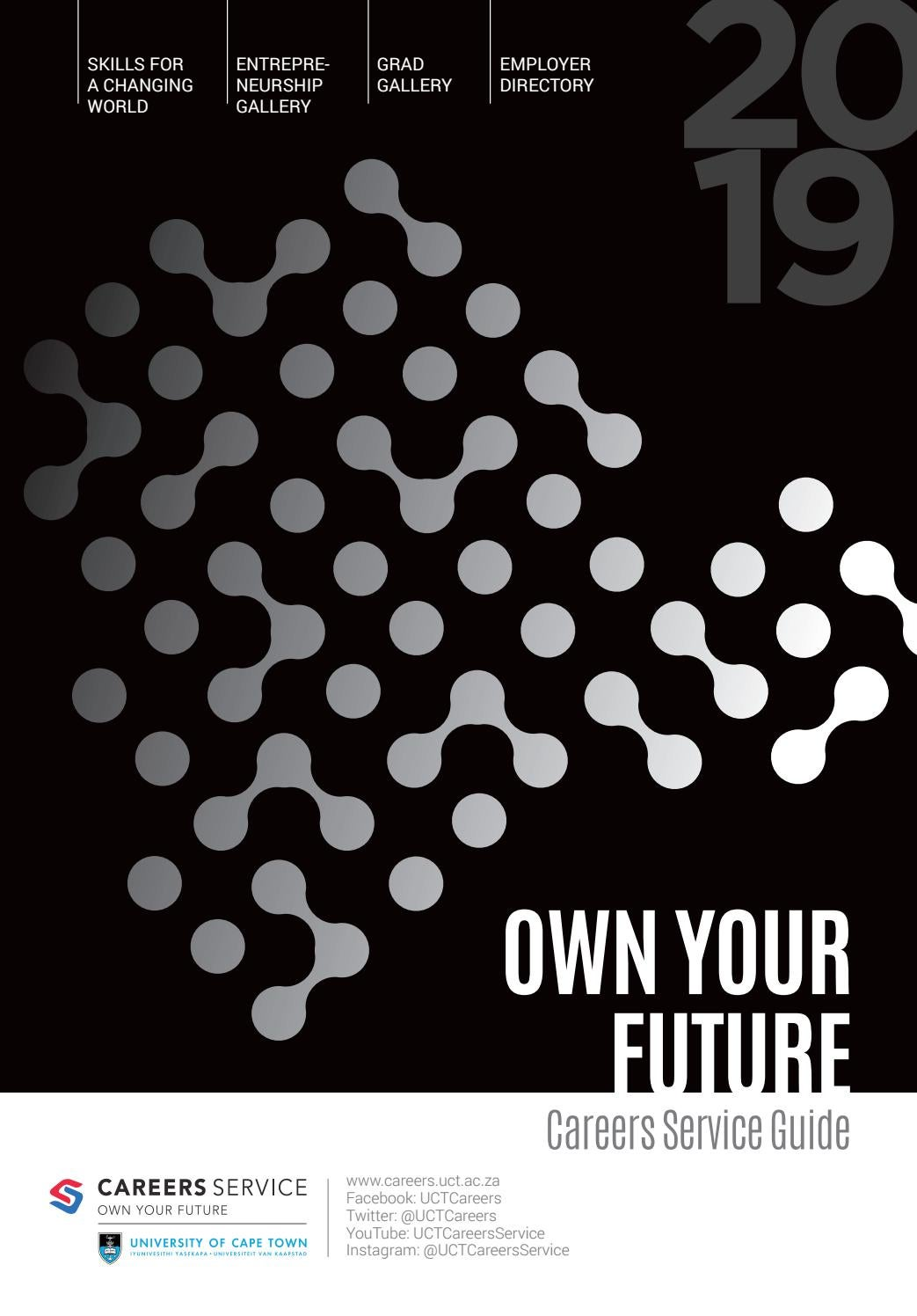 2019 Careers Service Guide by UCT Careers - issuu