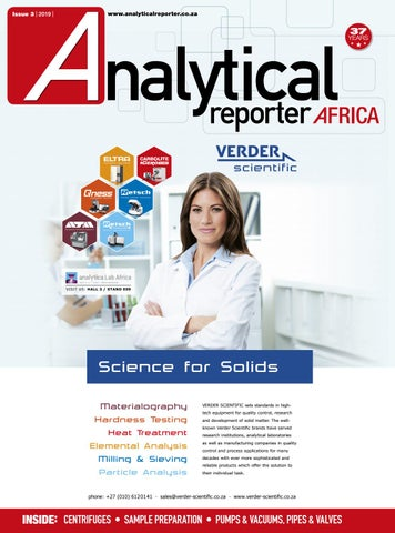 Analytical Reporter May/ June 2019 by New Media B2B - issuu