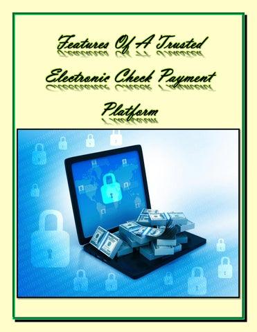 efficient eCheck gateway to businesses, trusted eCheck Merchant