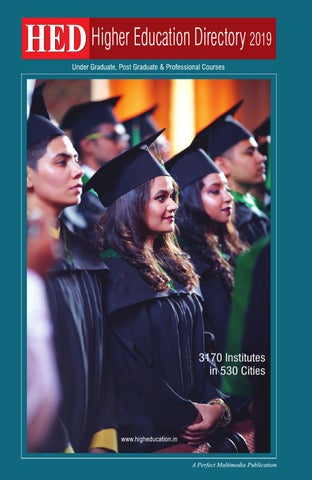 HED Higher Education Directory 2019 by Perfect Multimedia - issuu