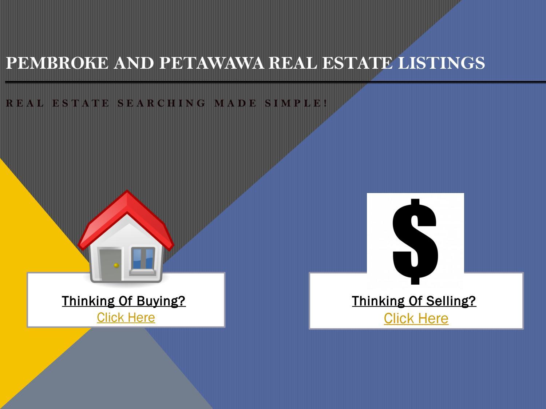 Pembroke and Petawawa Real Estate Listings | Jason Turcotte