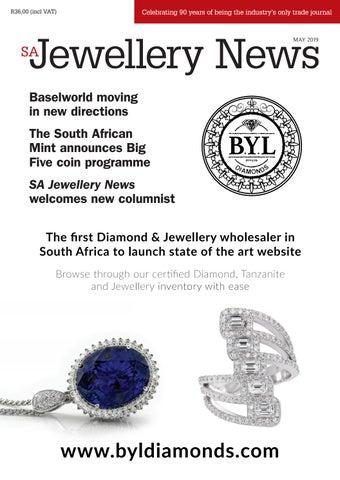 SA Jewellery News (SAJN) • May 2019 by Isikhova Publishing