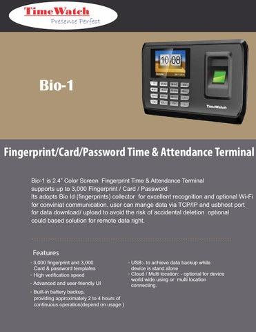 Best Biometric Time Attendance Device have Fingerprint/Card
