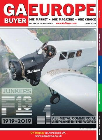 GA Buyer Europe June 2019 by AvBuyer Ltd  - issuu