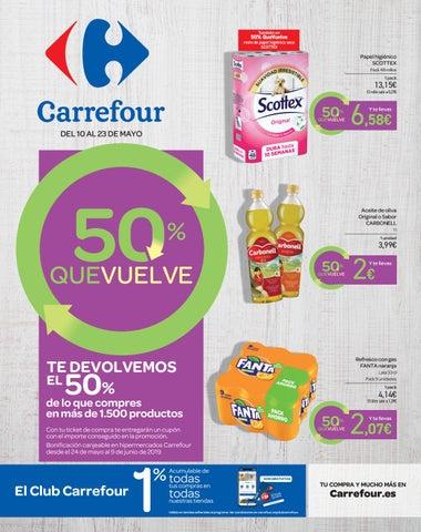 Catálogo Carrefour vuelve el 50% by Ofertas Supermercados