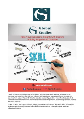 Best Online Learning Provider in Qatar- Gstudies com by