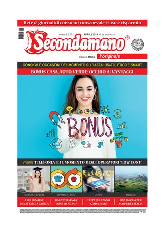 5bcfa2575b Secondamano Milano aprile 2019 by Edit Italia S.r.l. - issuu