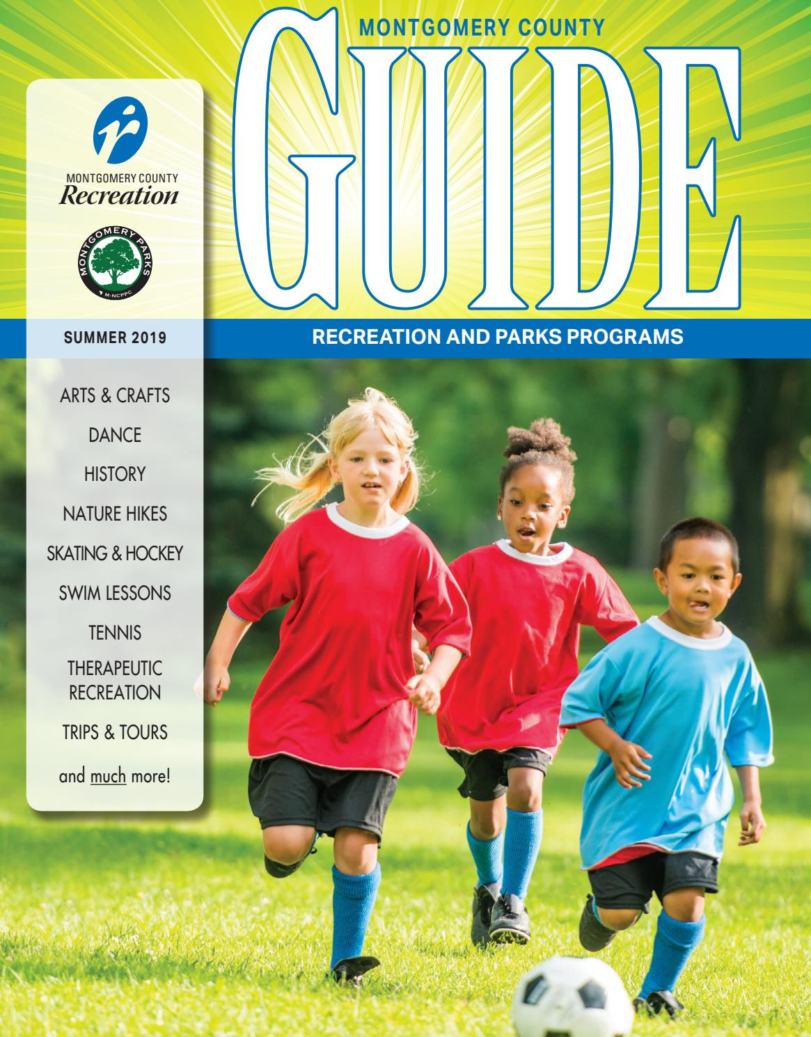 Summer Guide 2019 By Montgomery County Recreation Dept