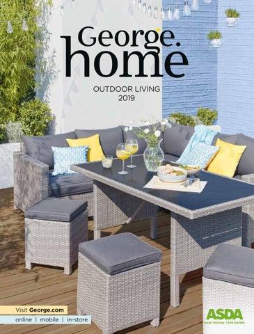 Sensational George Home Outdoor Living Catalogue 2019 By Asda Issuu Inzonedesignstudio Interior Chair Design Inzonedesignstudiocom