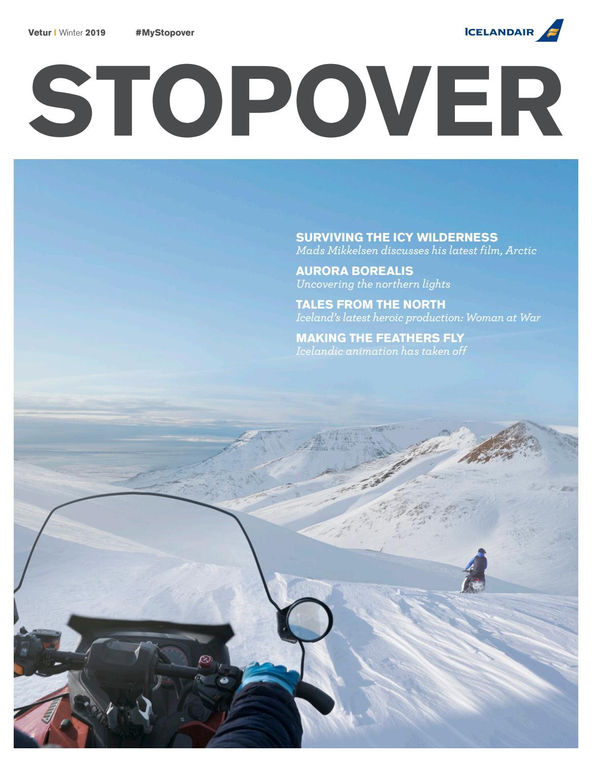 caf0ee8e6 Icelandair Stopover magazine - winter 2019 by Icelandair - issuu