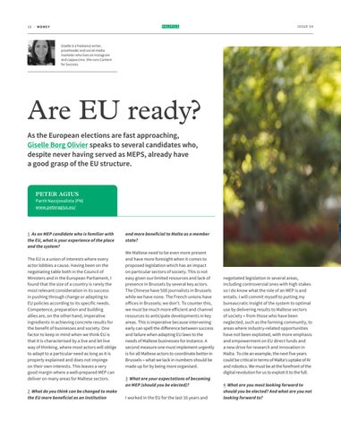 Page 10 of ARE EU READY?