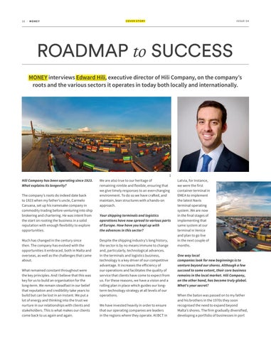 Page 16 of COVER STORY - ROADMAP TO SUCCESS