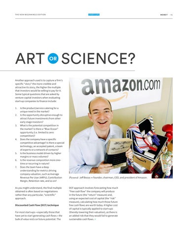 Page 41 of VALUING START-UPS: ART OR SCIENCE?