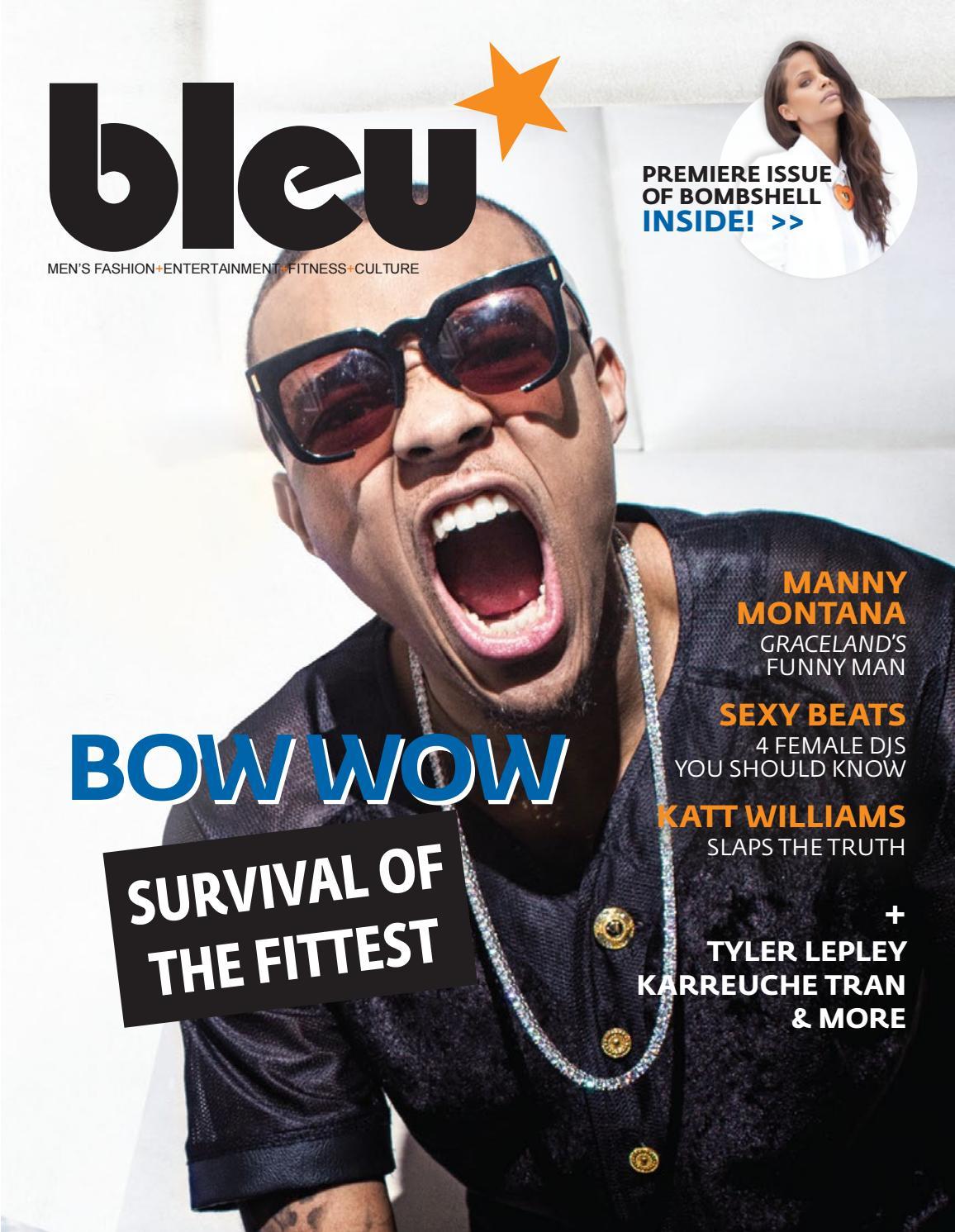 Bleu Magazine Issue 26 Bow Wow By Bleu Magazine Issuu