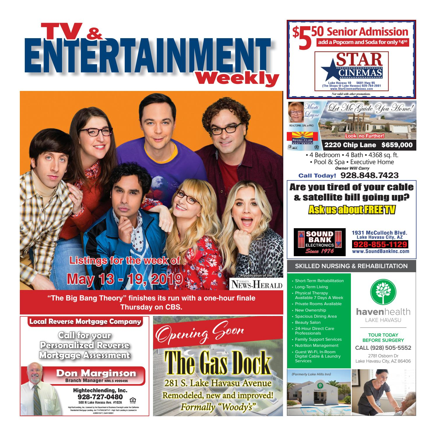 TV Guide week of 5-13 by Wick Communications - issuu