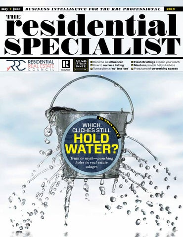 The Residential Specialist, May/June 2019