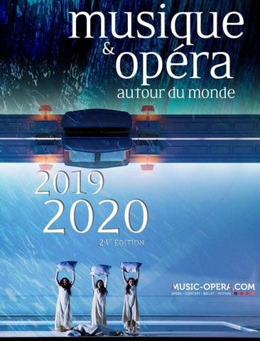 Extrait Du Guide Musique Opéra 2019 2020 By Violaine Thielen Issuu