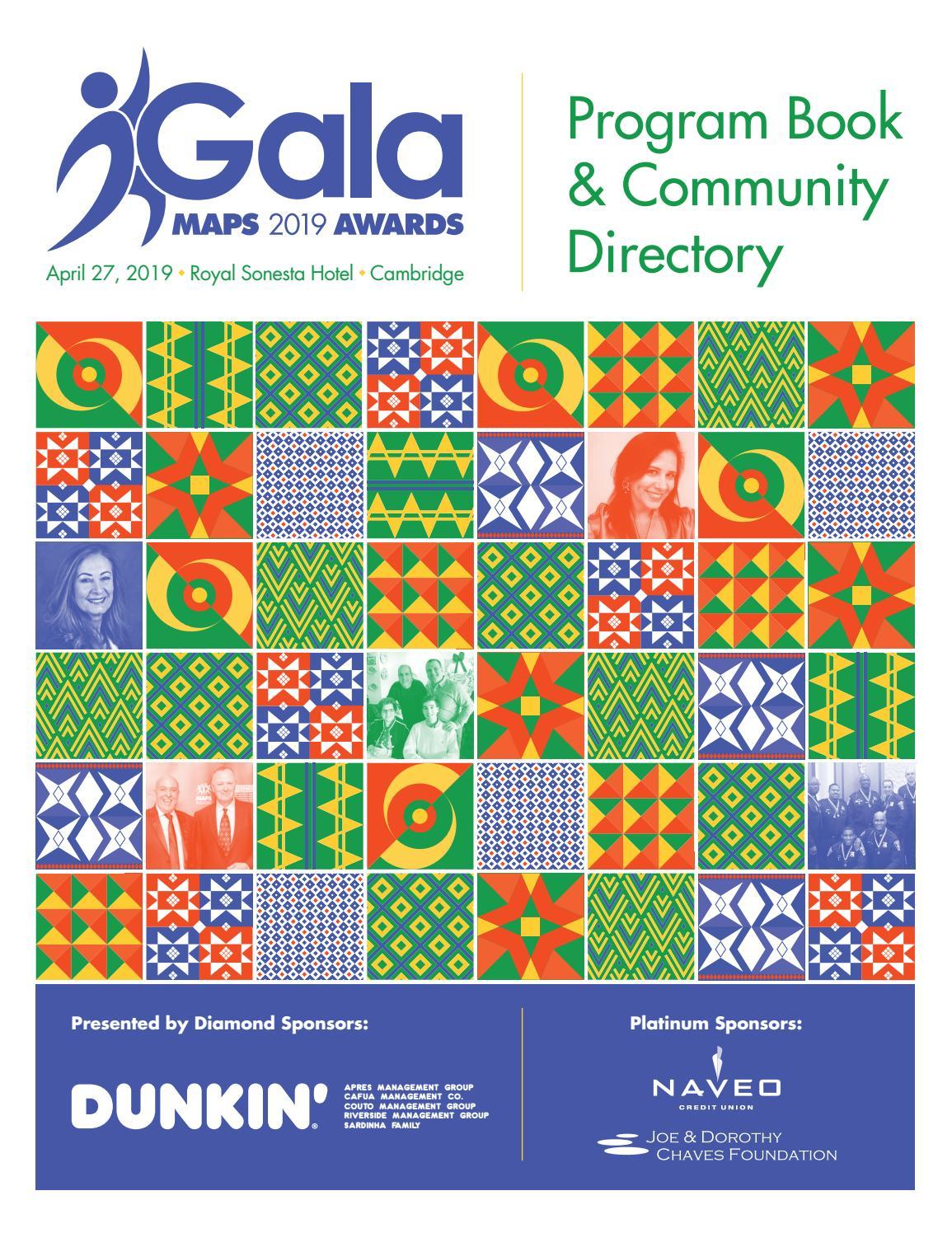 MAPS 2019 Awards Gala | Program Book & Community Directory