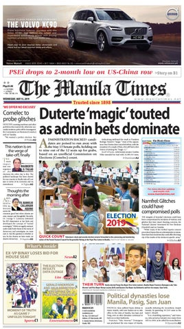 THE MANILA TIMES | MAY 15, 2019 by The Manila Times - issuu