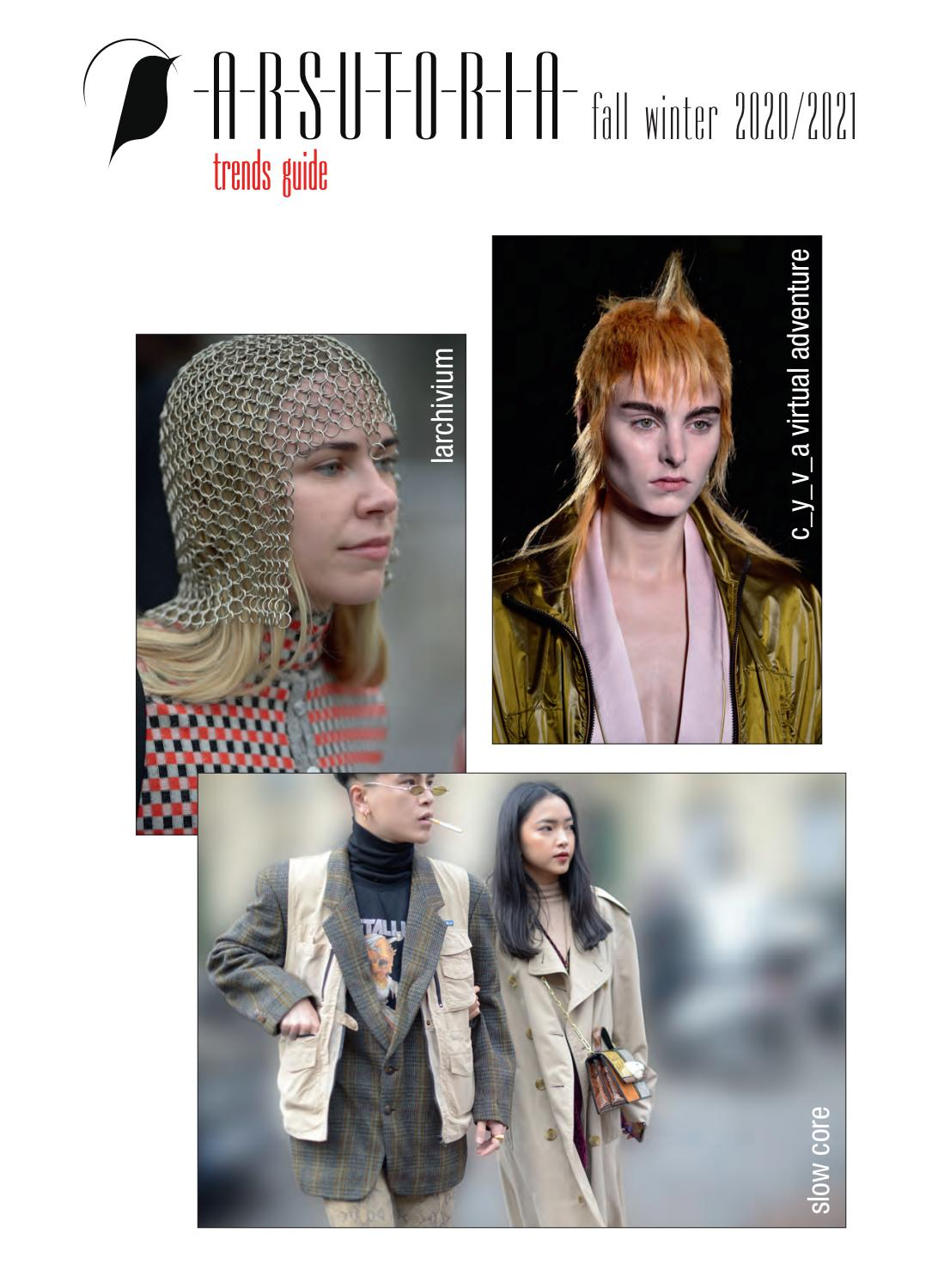 2020 2021 Hair Color Trends.Arsutoria Trends Guide Aw 2020 21 By Edizioniaf Issuu