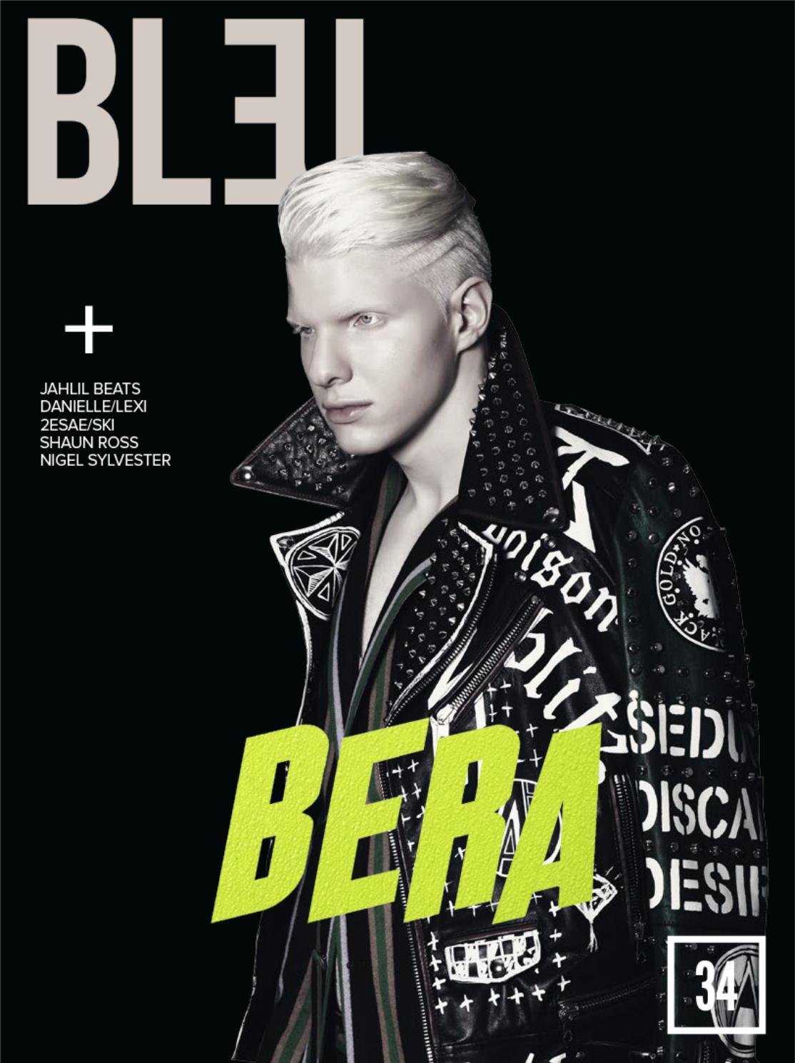 bde64edaafc64 Bleu Magazine Issue 34- Bera by Bleu Magazine - issuu